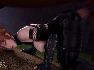 Kasumi Getting Pounded (laosduude)[horse]3D Bestiality