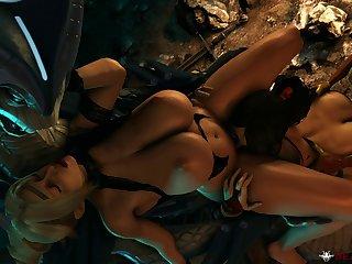 Rachel Vs Viper King (beastlyjoe)[reptile]3D Bestiality