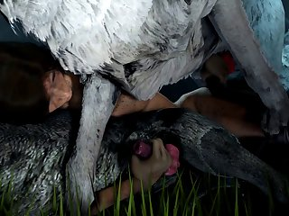 Lara And The Wolfpack (blueberg)[dog Wolf]3D Bestiality